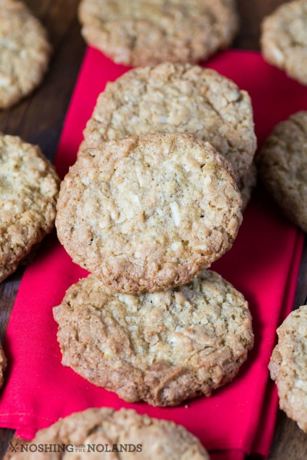 Dad's Copycat Coconut Oatmeal Cookies