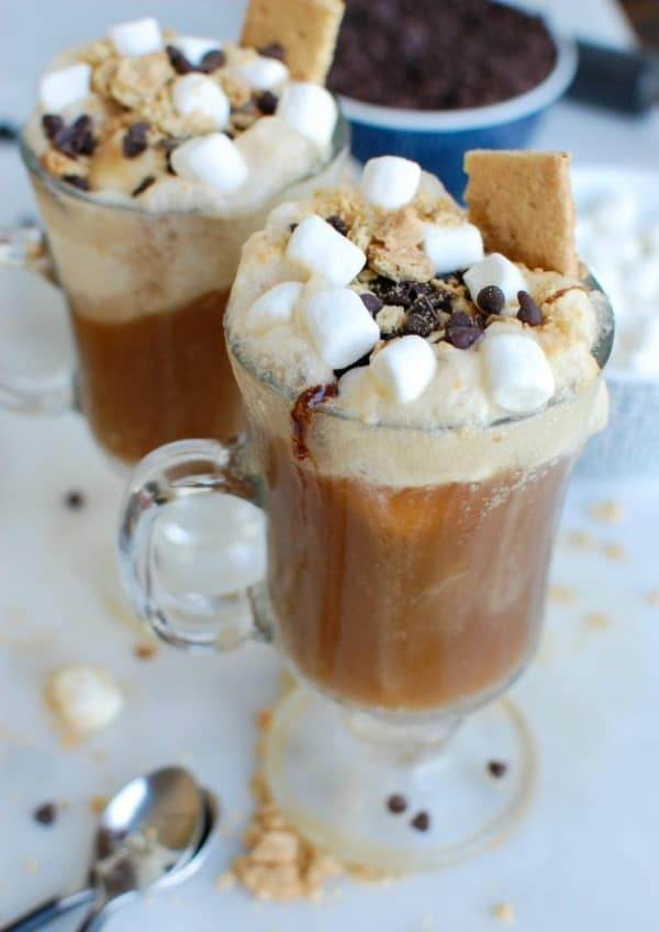 S'mores A&W Rootbeer Float