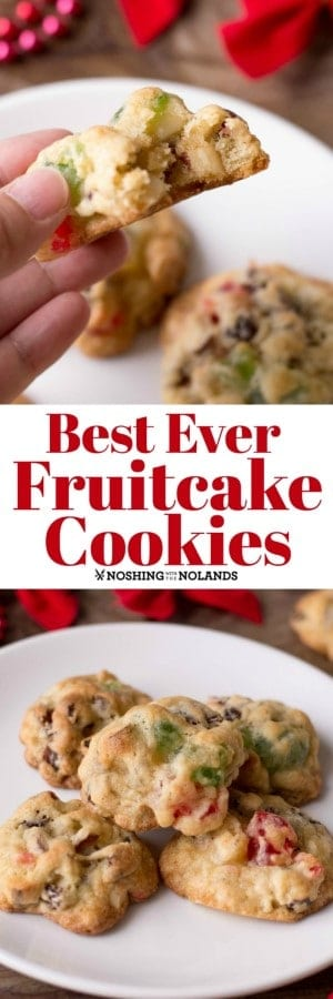 Best Ever Fruitcake Cookies Will Be Your New Favorite For The Holidays