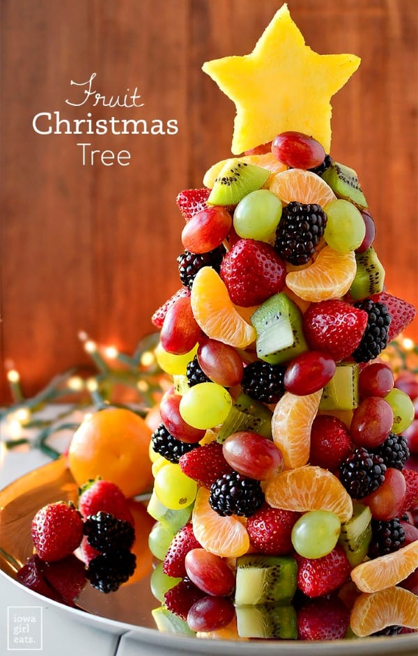 Fruit Chirstmas Tree