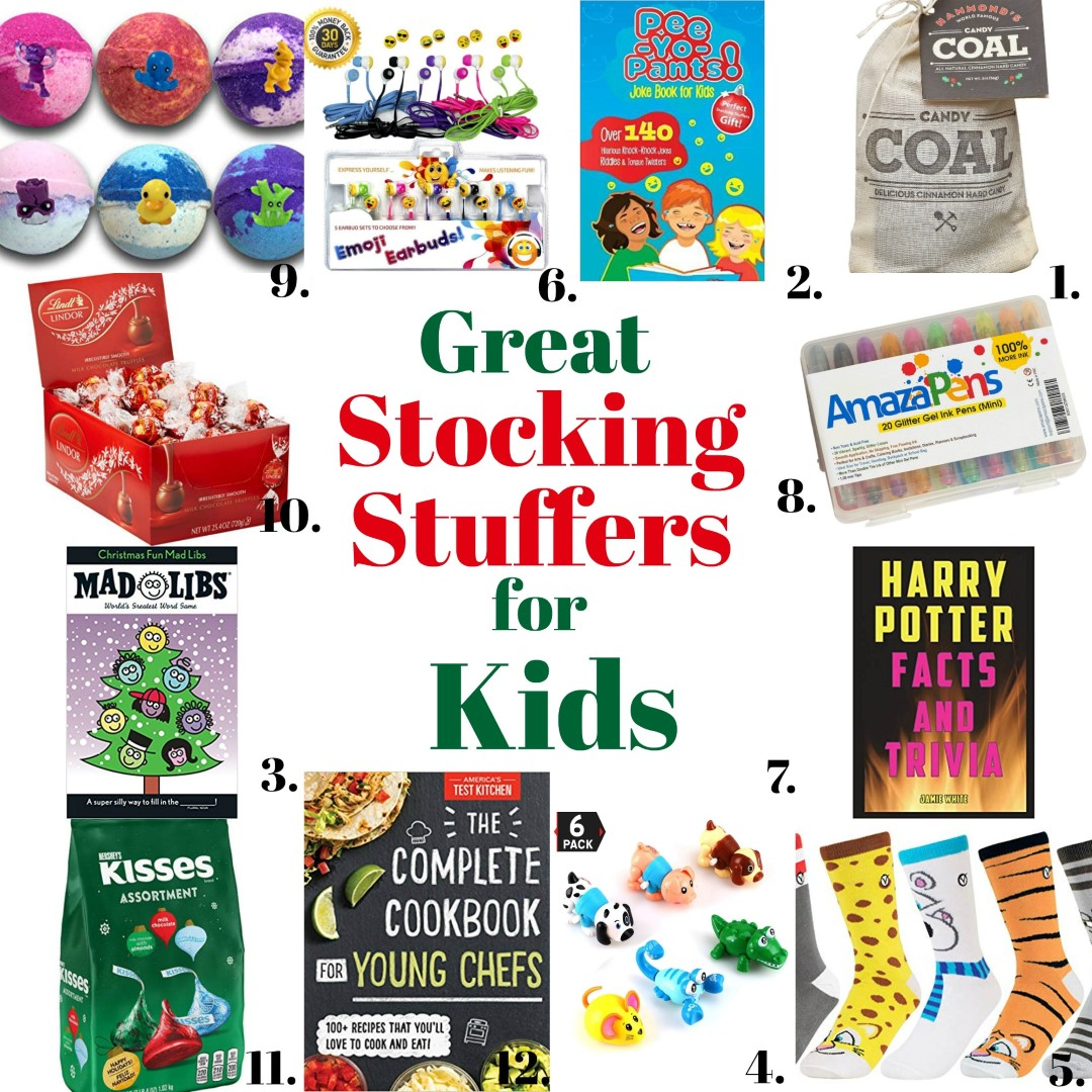 Great Stocking Stuffers for Kids