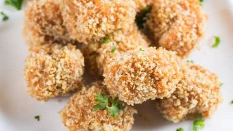Panko Crusted Sweet Potato Balls