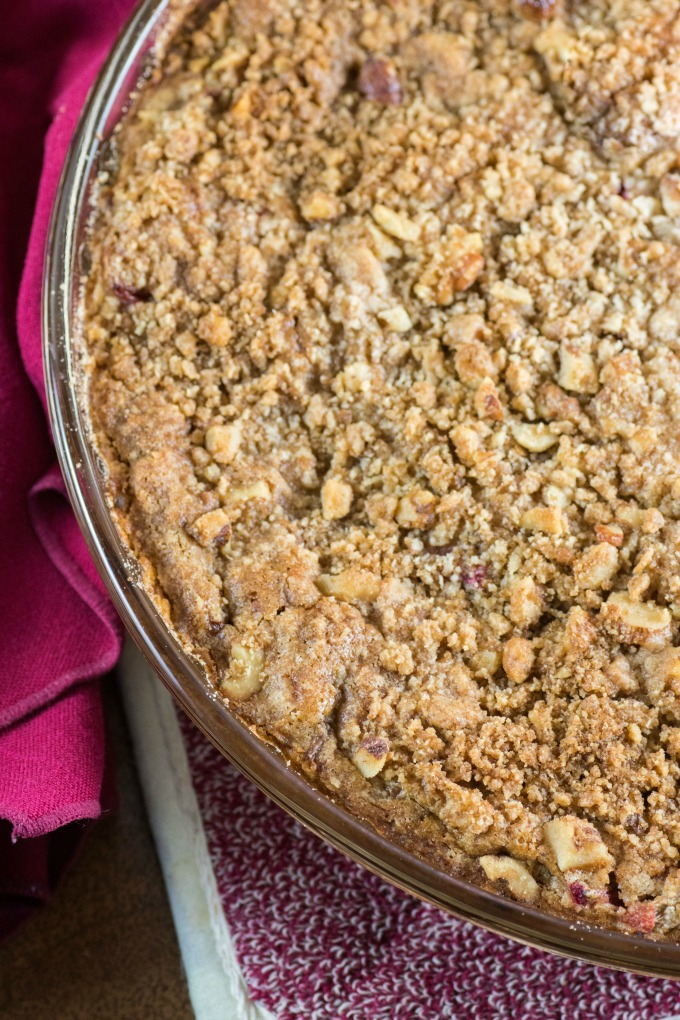 Rhubarb Impossible Pie
