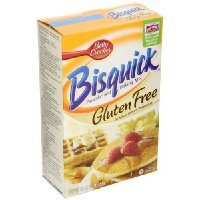 Bisquick Pancake and Baking Mix, Gluten-free, 16-ounce Box(2pack)