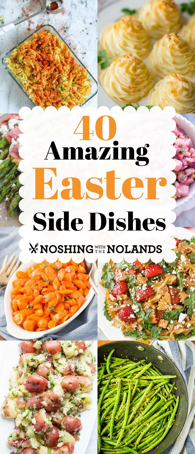 40 Amazing Easter side dishes to make your Easter dinner simple! #Eastersidedishes, #Easter, #sidedish
