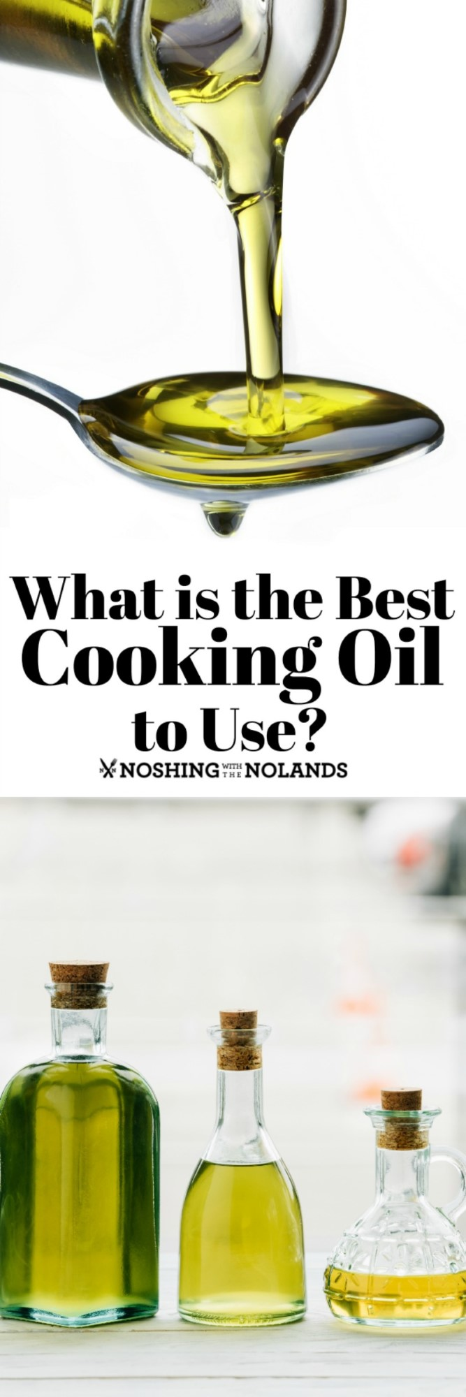 What is the Best Cooking Oil to Use? Do you know the Difference? #cookingoil #oils