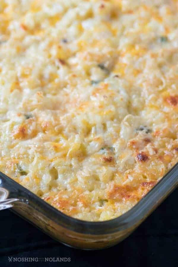 Baked Cheddar Hash Brown Casserole Or Hashbrown Casserole