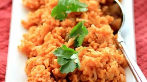 Rice Cooker Mexican Rice