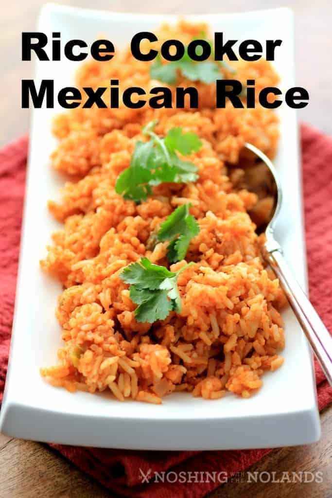 Rice Cooker Mexican Rice Recipe