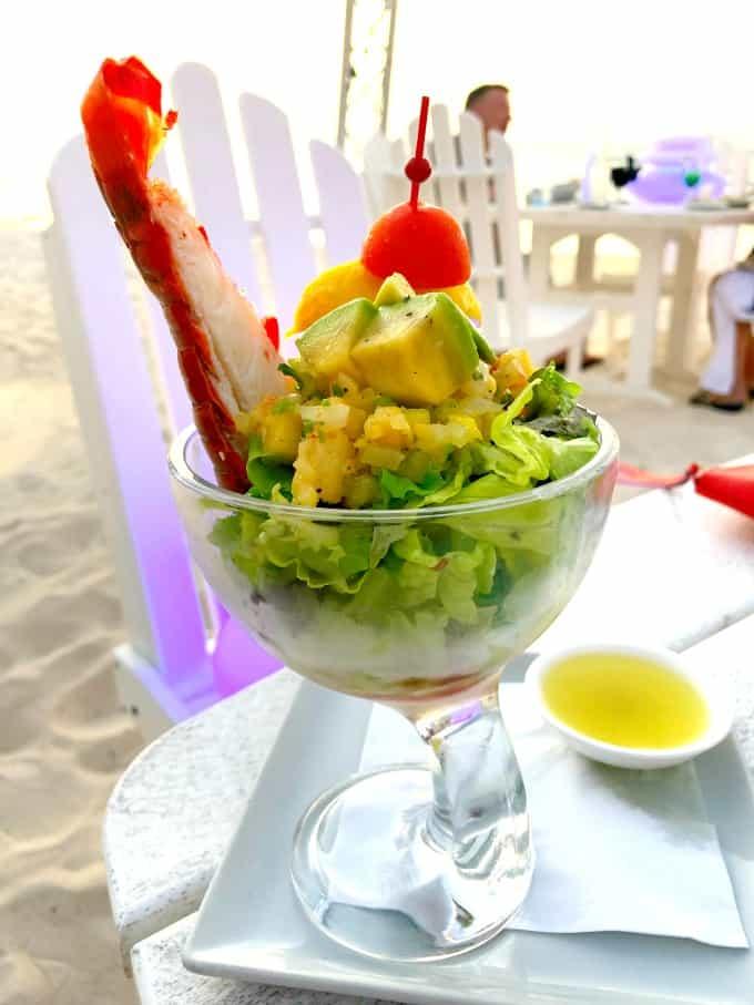 Lobster Seafood Martini