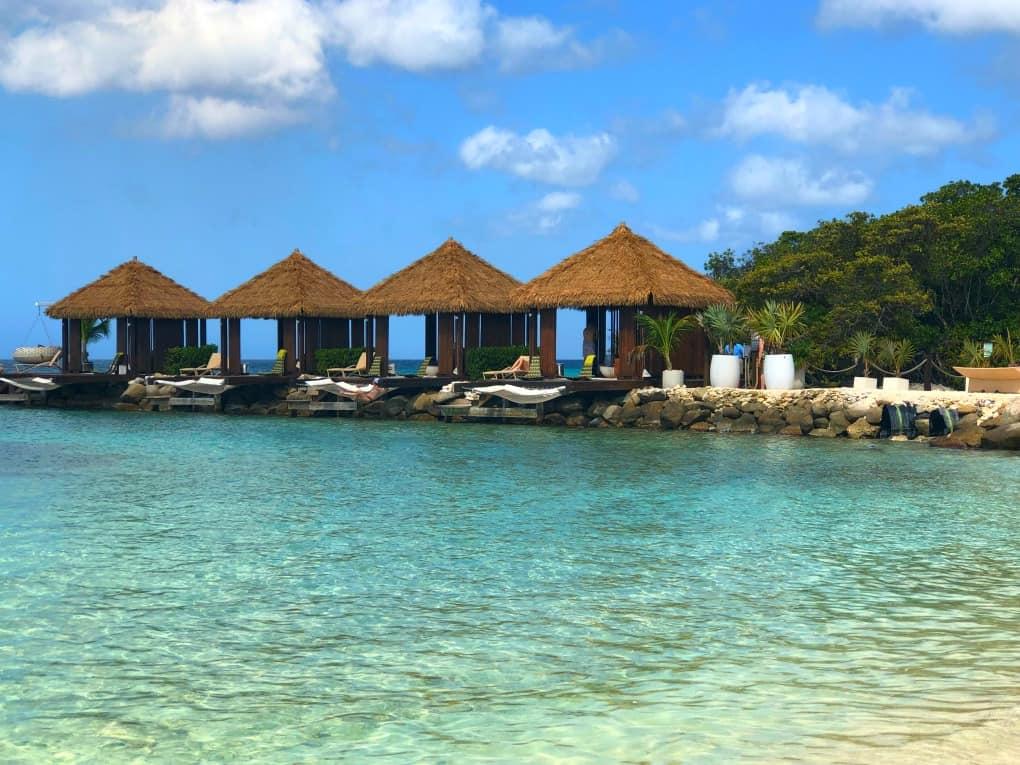 Cabanas on Flamingo Beach