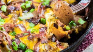 Little Potato Campfire {Grill} Home Fries