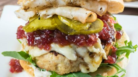 Giant Juicy Turkey Burgers