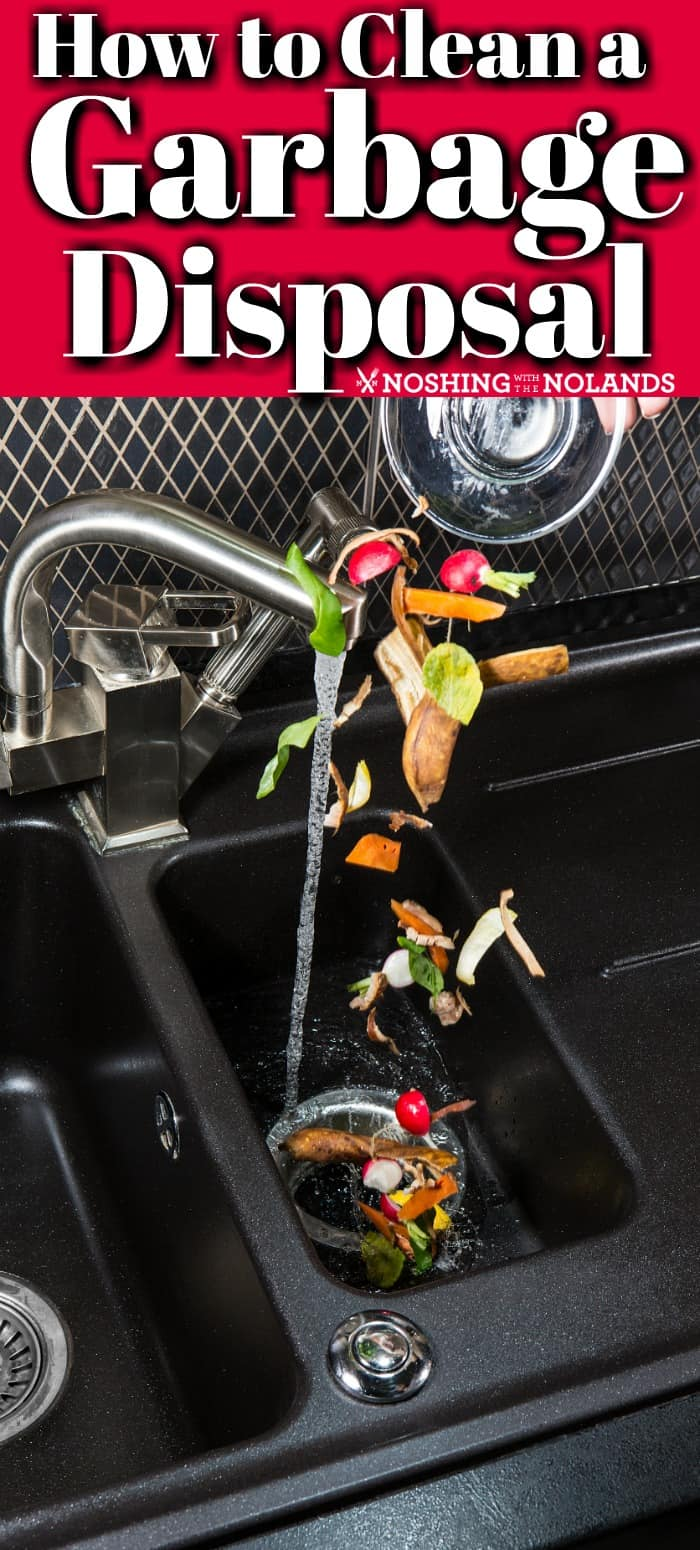 How to Clean a Garbage Disposal will help you get rid of nasty odors and keep this appliance smelling fresh!! #howto #garbagedisposal