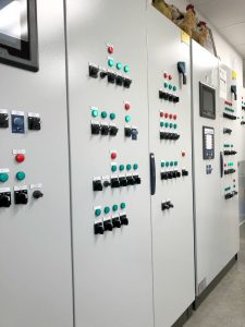 Control Center at Brant Colony Egg Farm
