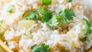 How to Make Pineapple Coconut Rice