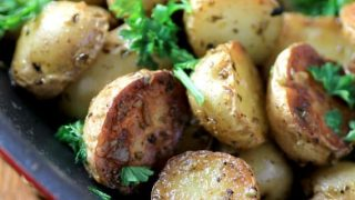 Skillet Greek Potatoes