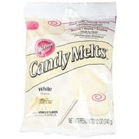 2 x Wilton 12 oz (340g) WHITE Candy Melts For Cake Icing Pops Sweets Decoration