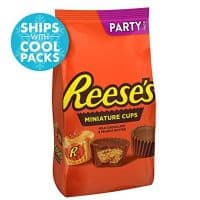 Reese's Chocolate Peanut Butter Cup Candy, Miniatures, Party Bag