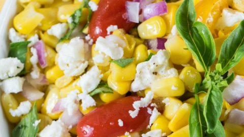 Cotija Corn Salad Recipe