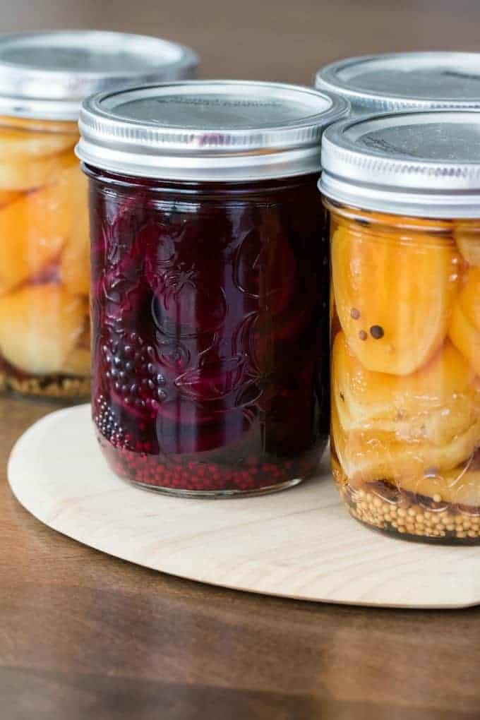 Easy Pickled Beet Recipe in Jars