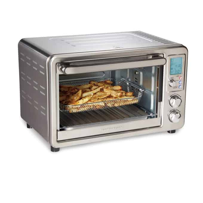 Hamilton Beach Sure-Crisp Digital Air Fryer Toaster Oven with Rotisserie