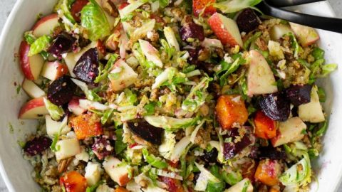 Fall Harvest Salad With Champagne Apple Cider Vinaigrette
