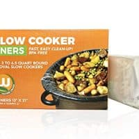 "Premium Slow Cooker Crock Pot Liners - One Box of Eight Thicker than Leading Brand Kosher BPA Free, up to 6.5 Quart 13"" x 21"" inches"