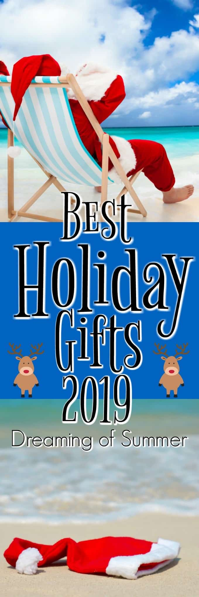 Best Holiday Gifts 2019 will have you Dreaming of Summer with this collection of amazing items to buy for yourself or give as a gift. #giftguide #holiday #Christmas