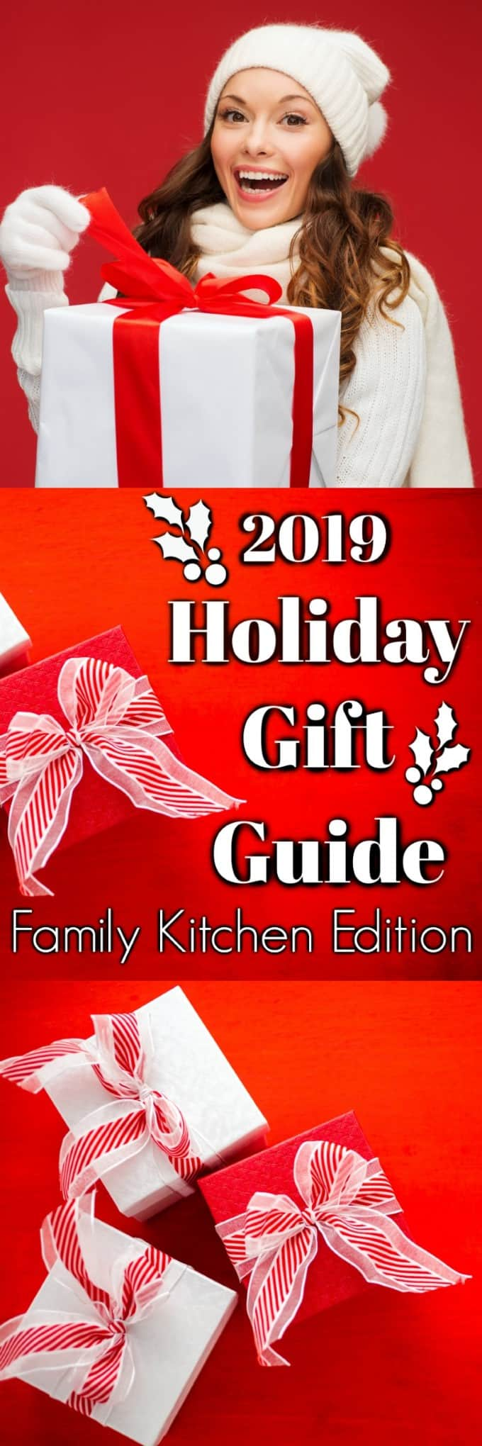 Our 2019 Holiday Gift Guide - Family Kitchen Edition will sure to please everyone!! #giftgiving #holidaygifts #Christmas
