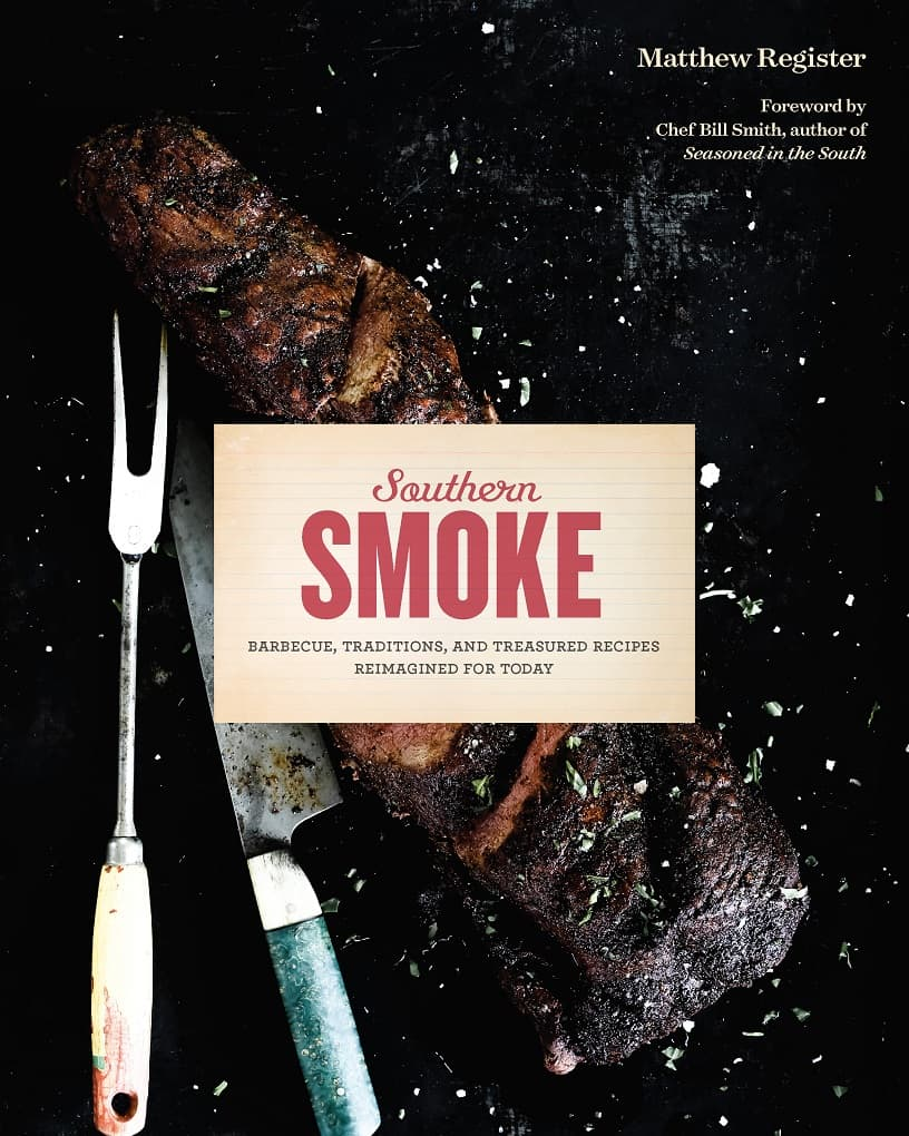 Cover of Southern Smoke BBQ cookbook for Best Holiday Gifts