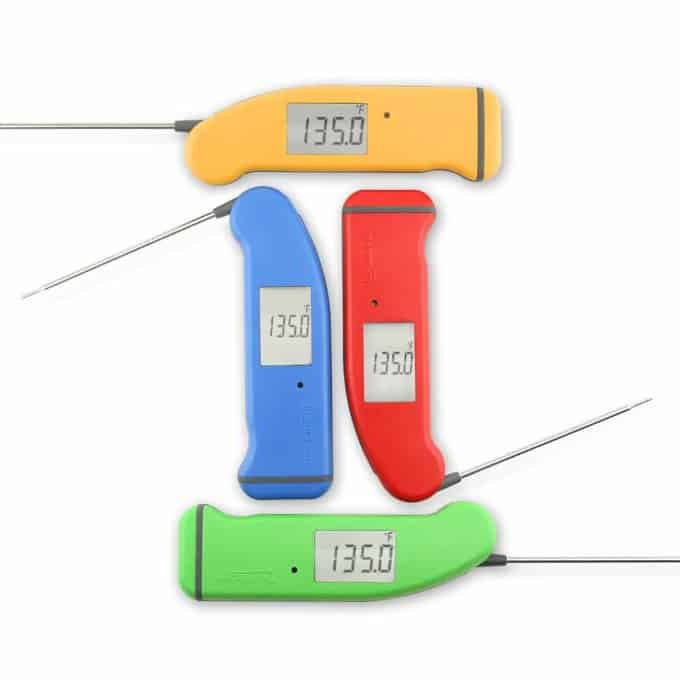 Thermapen in four colors