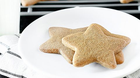 Ginger Star Cookies