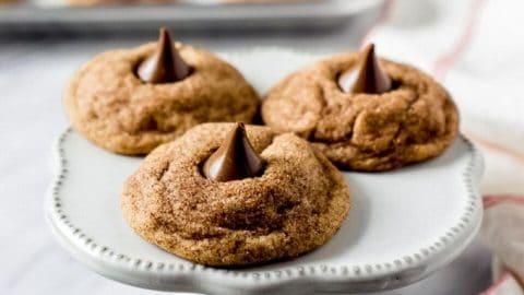 Snickerdoodle Kiss Cookies