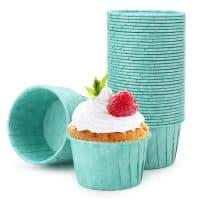 Cupcake Cups, Eusoar 50pcs 3.5oz Cupcake Liners, Muffin Liners, Disposable Ramekins, Paper Baking Cups, Cupcake Wrappers, Cupcake paper, Paper Cupcake...