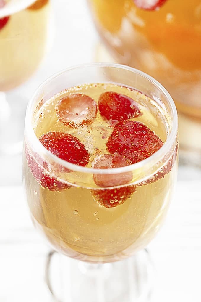 Party Punch Recipe in a glass
