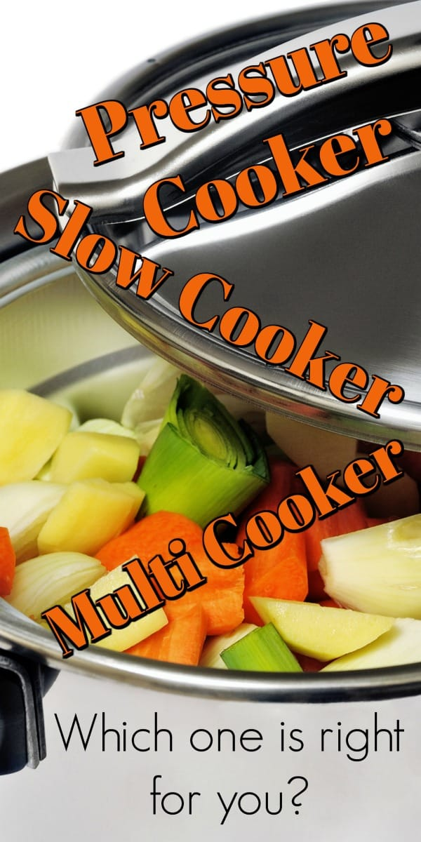 Pressure Cooker vs Slow Cooker vs Multi Cooker (Plus an Air Fryer). Which one is right for you? #multicooker #pressurecooker #slowcooker
