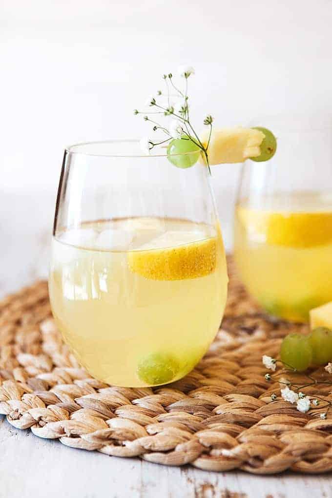 White Grape Pineapple Spritzer