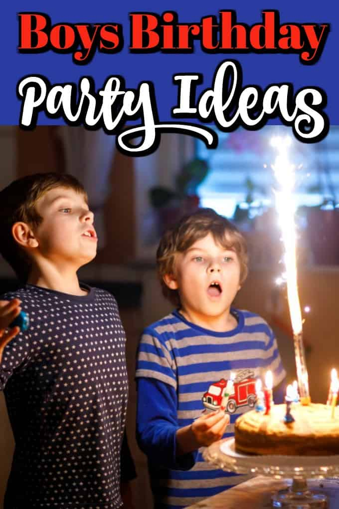 The birthday boy usually wants an action-packed birthday bash. Parents on the other hand, sometimes dread birthday parties because there is so much pressure. Let us help you! #birthdayparty #boysparty