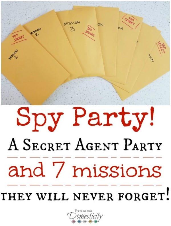 Spy Party - A Secret Agent