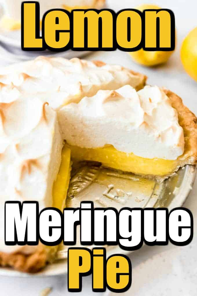 Want to make a Perfect Lemon Meringue Pie? Let us help you this great recipe and some tips and tricks! #lemonmerniguepie #meringue #pie