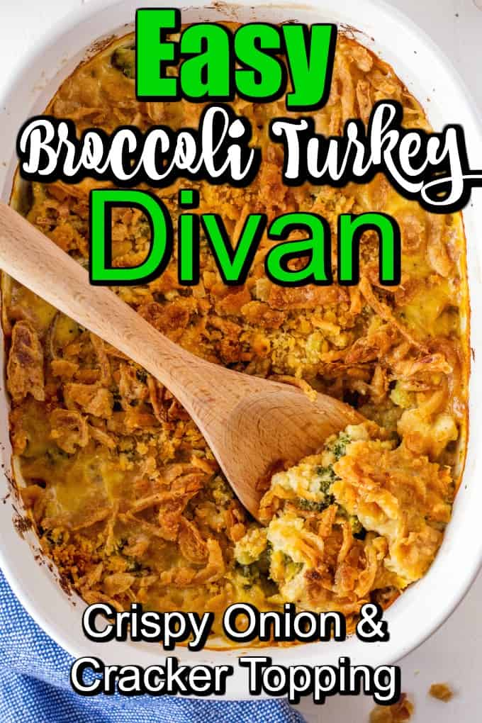 Easy Broccoli Turkey Divan Pin
