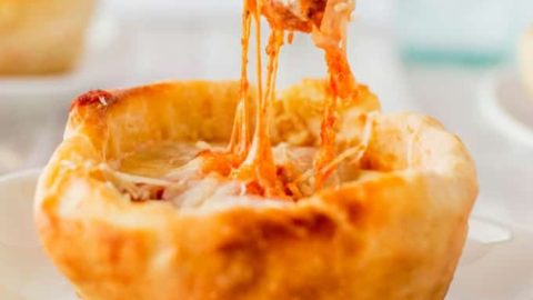 Copycat Olive Garden Pizza Bowls