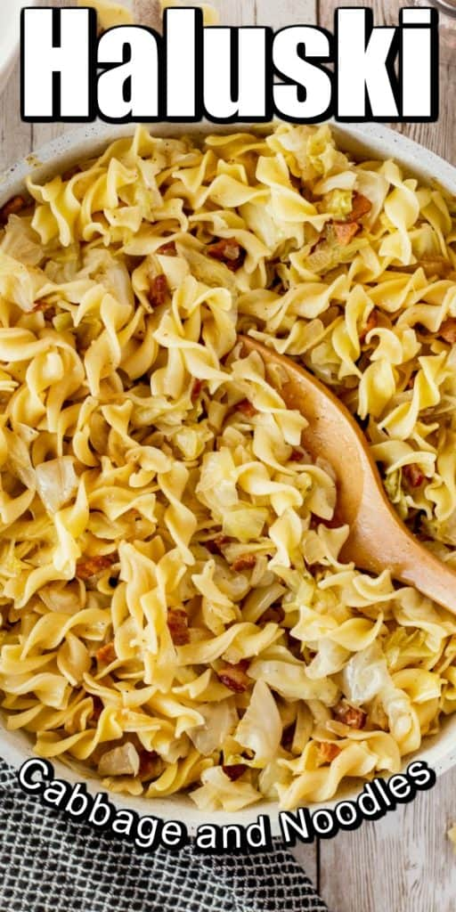 Haluski - Fried Cabbage and Noodles Pin