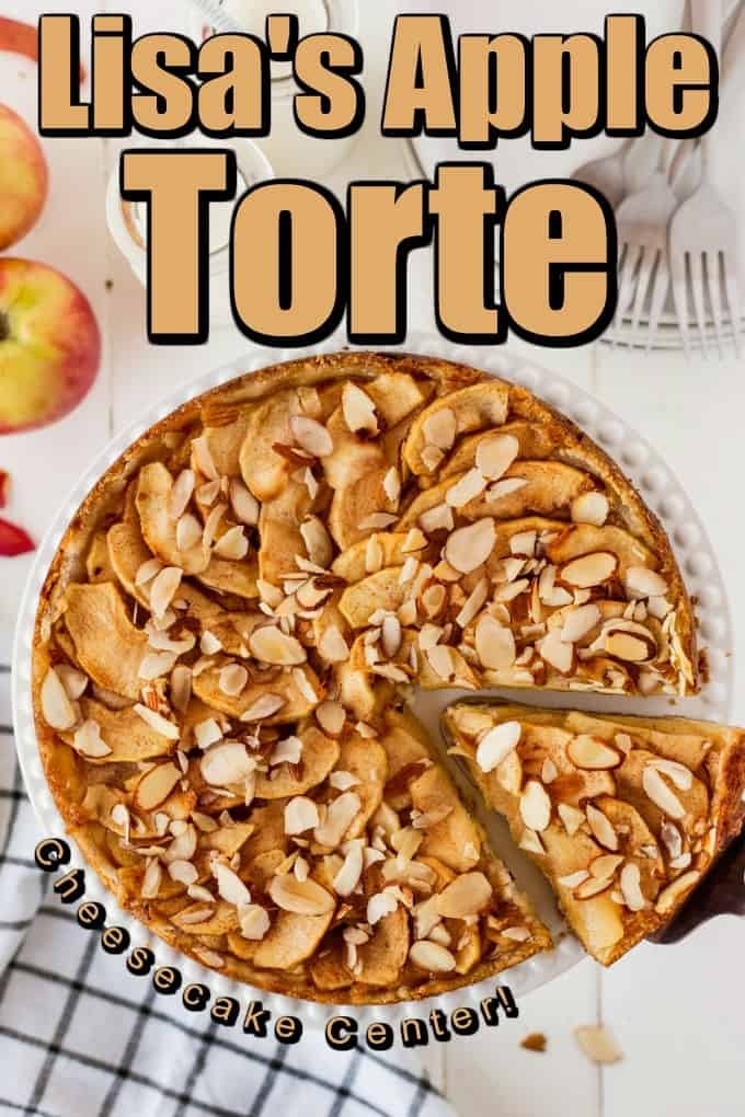 Lisa's Apple Torte - Bavarian Apple Torte Pin