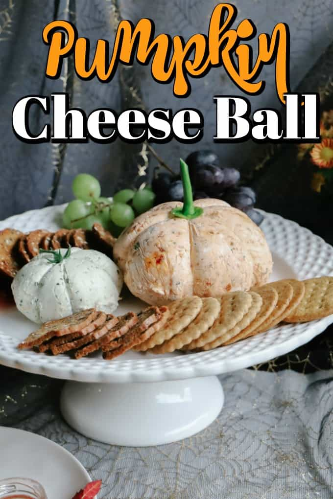 Pumpkin Cheese Ball Pin