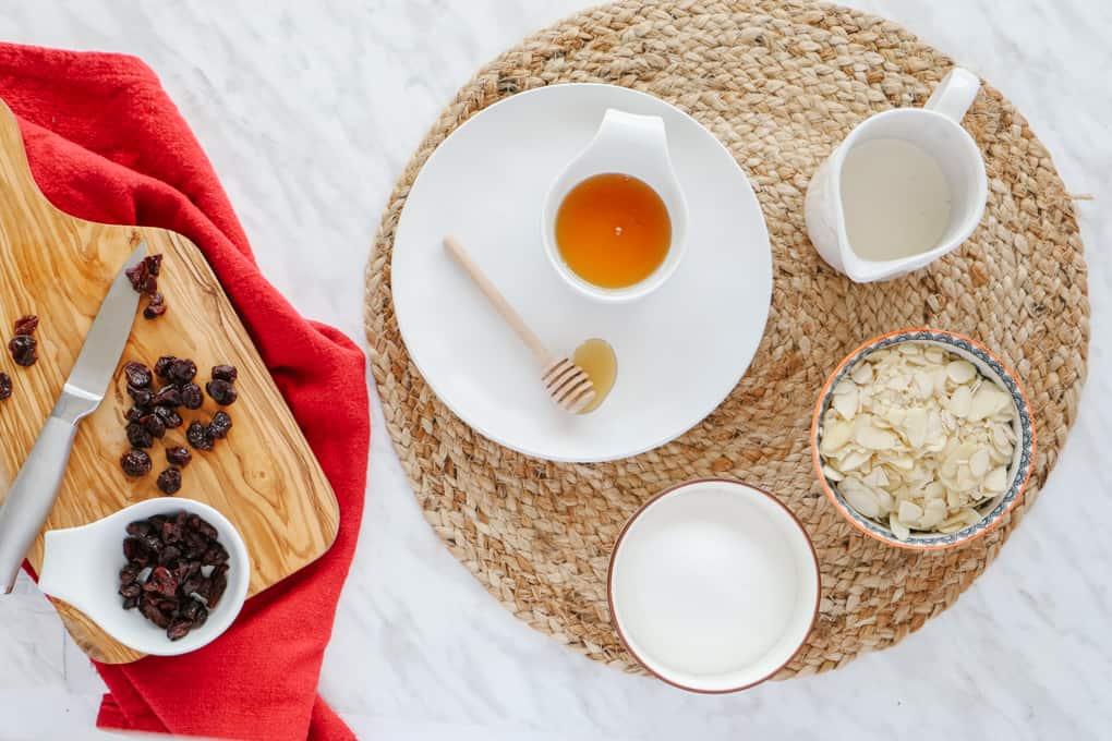 Ingredients for Florentine Cookies