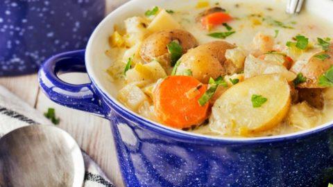 German Potato Soup (Kartoffelsuppe)