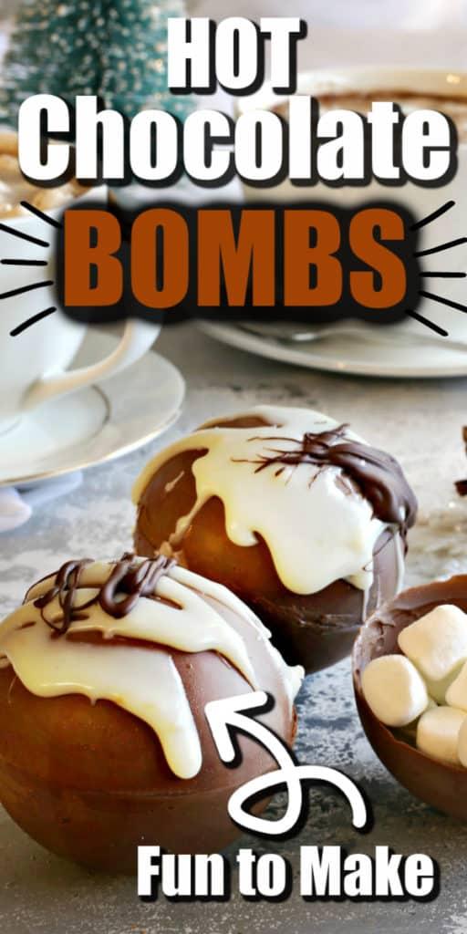 Hot Chocolate Bombs Pin