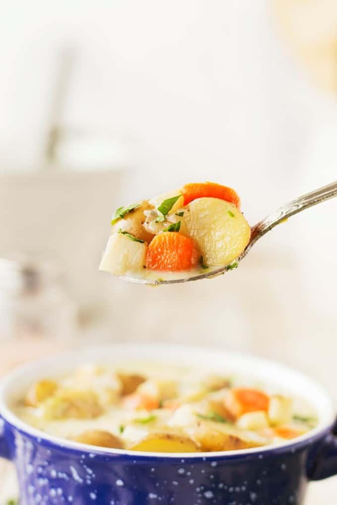 Spoonful of German Potato Soup